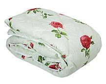 Одеяло закрытое овечья шерсть (Поликоттон) Двуспальное Евро T-51062, фото 3