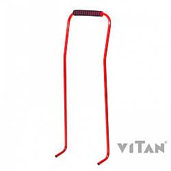 Ручка-толкатель для санок Vitan 7530 красный лак