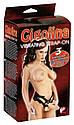 Страпон - Gigolina Vibrating Strap-On, фото 6