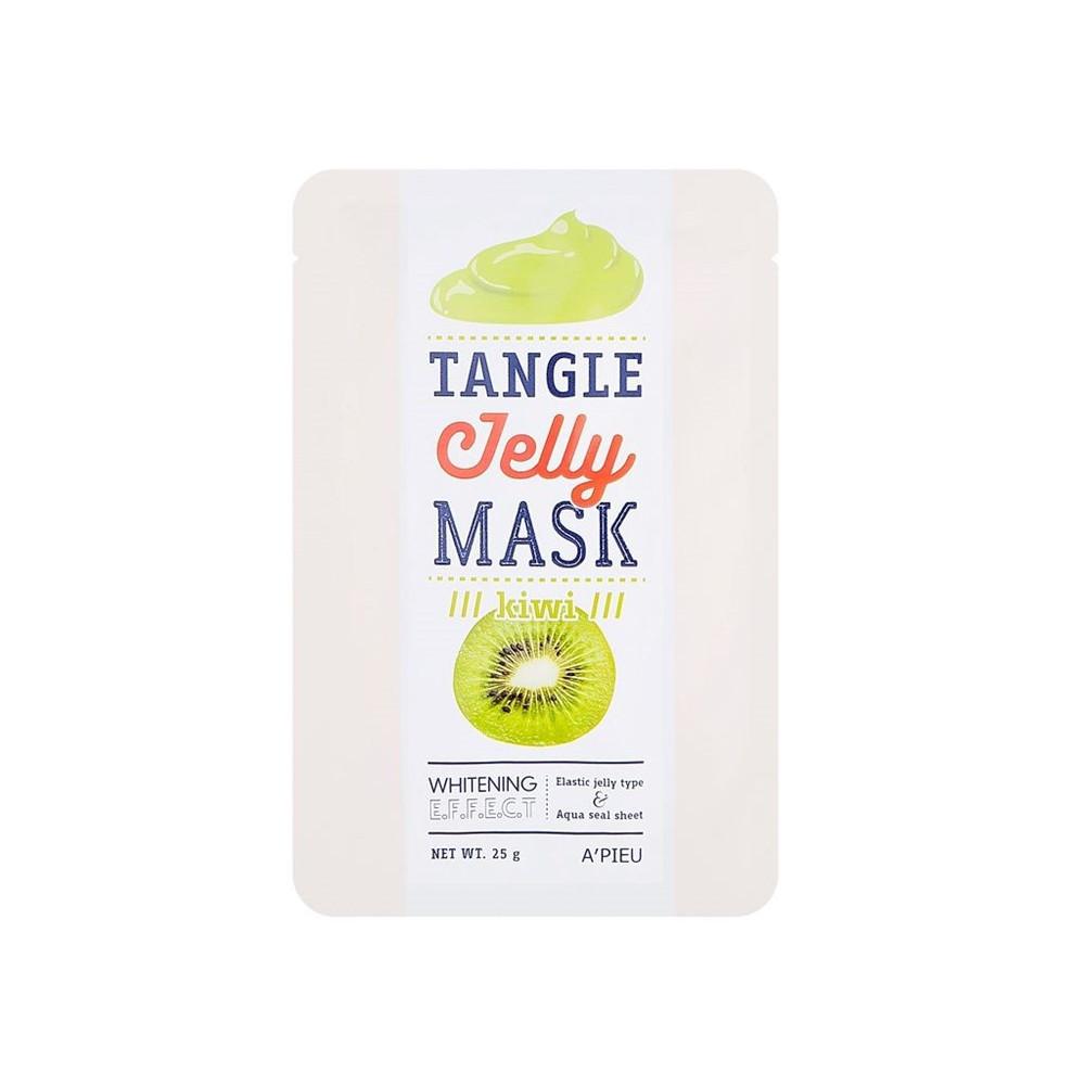 "Тканевая маска для лица ""Киви"" A'pieu Tangle Jelly Mask Kiwi, 25 г (8806185777179)"