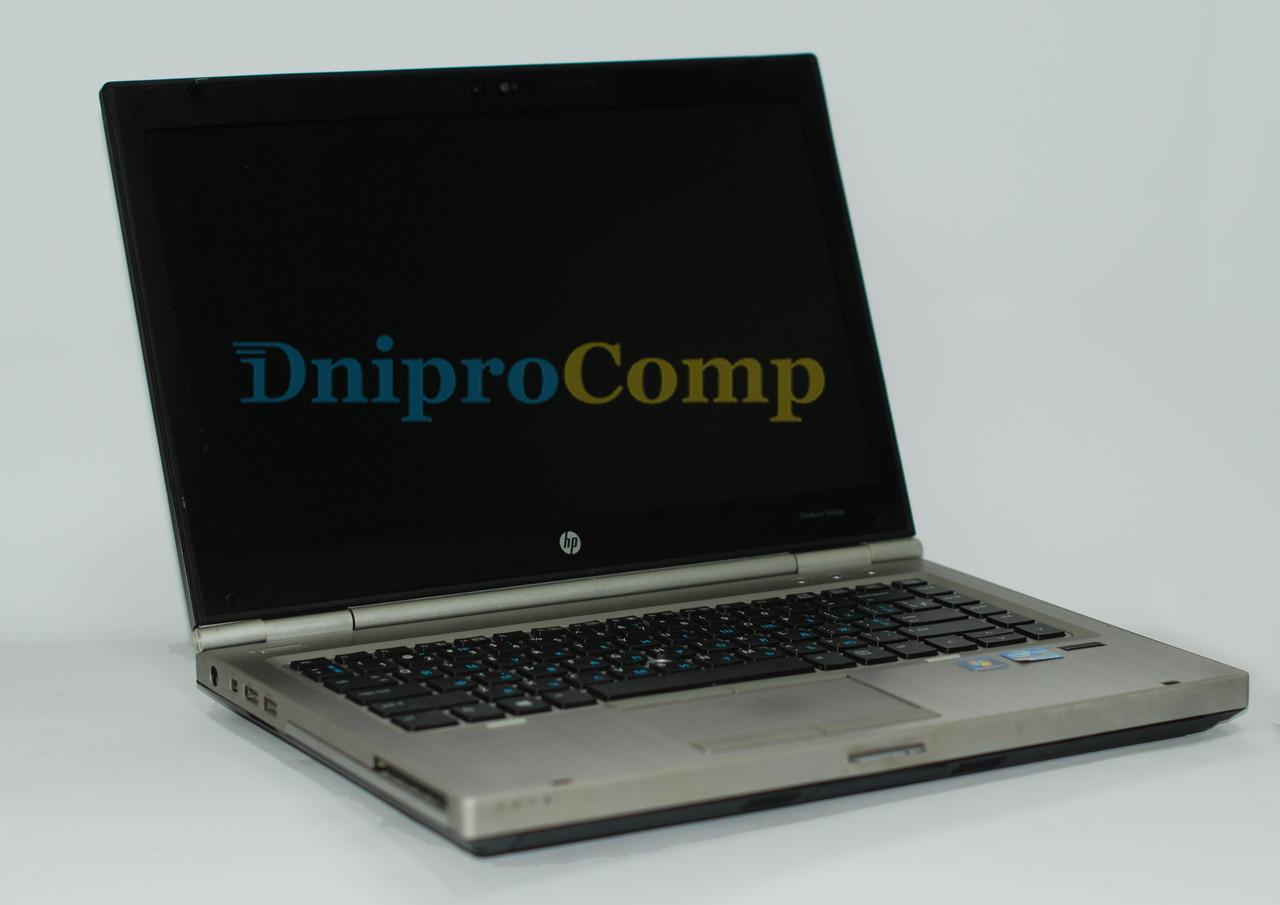 Ноутбук HP EliteBook 8460p i5-3320M/8/120SSD/500HDD/1GB 7570M Class A