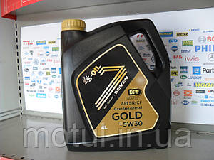 Моторное масло S-oil seven gold 5w30