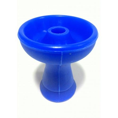 СИЛИКОНОВАЯ ЧАША PHUNNEL (ФАНЕЛ) ДЛЯ КАЛЬЯНА   Синяя   1 отверстие