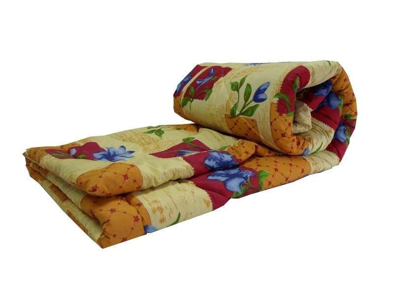 Одеяло закрытое овечья шерсть (Поликоттон) Двуспальное Евро T-51088