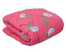 Одеяло закрытое овечья шерсть (Поликоттон) Двуспальное Евро T-51088, фото 3