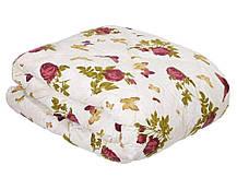 Одеяло закрытое овечья шерсть (Поликоттон) Двуспальное Евро T-51090, фото 3