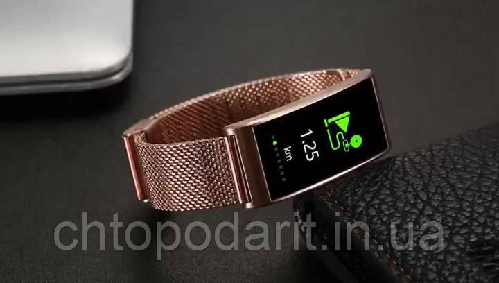 Фитнес-браслет SUNROZ Smart MioBand X3 - золото Код 10-7936