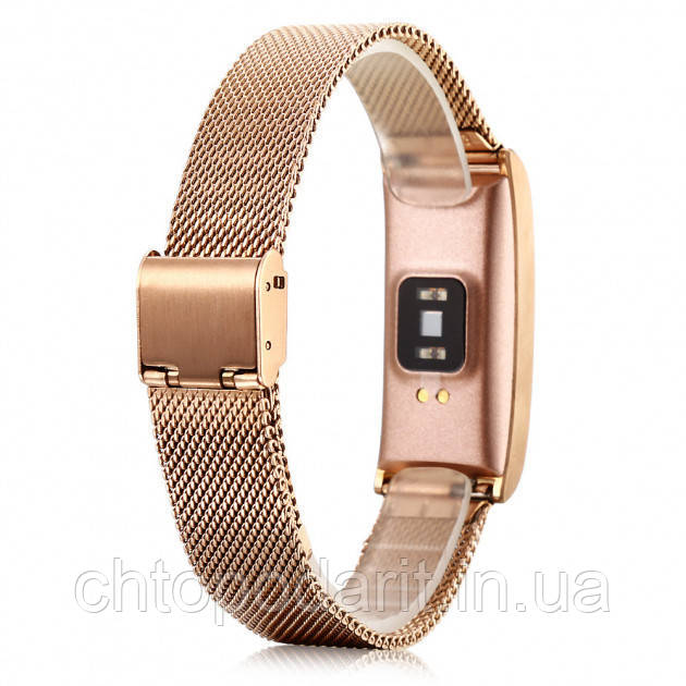 Фитнес-браслет SUNROZ Smart MioBand X3 - золото Код 10-7937