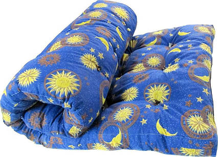 Одеяло закрытое овечья шерсть (Поликоттон) Двуспальное Евро T-51097, фото 2