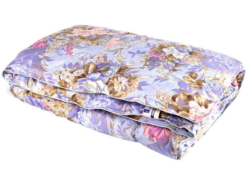 Одеяло закрытое овечья шерсть (Поликоттон) Двуспальное Евро T-51102