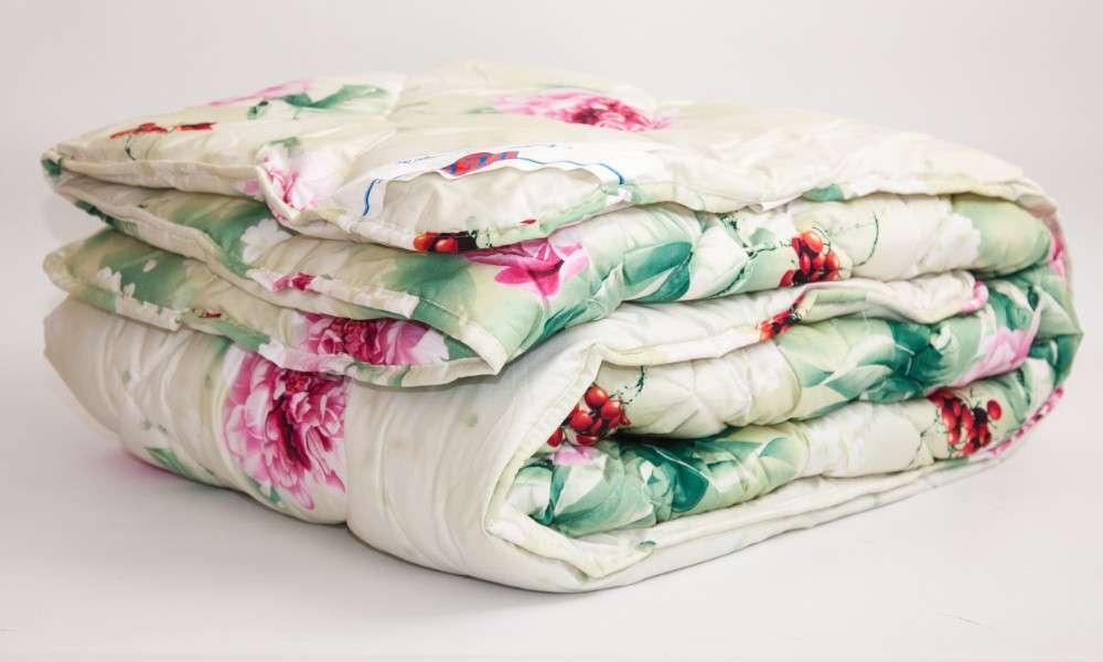 Одеяло закрытое овечья шерсть (Поликоттон) Полуторное T-51105