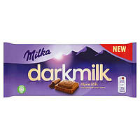 Шоколад Milka Dark Alpine Milk 85 гр.