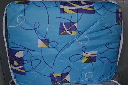 Одеяло закрытое овечья шерсть (Поликоттон) Полуторное T-51117, фото 2