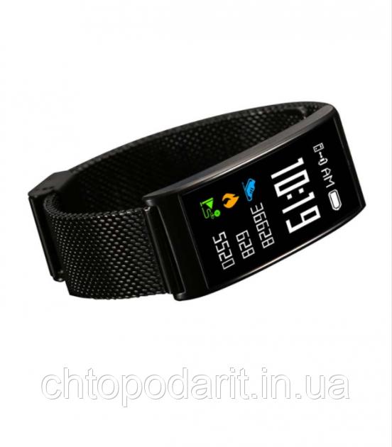 Фитнес-браслет SUNROZ Smart MioBand X3 - черный Код 10-8023