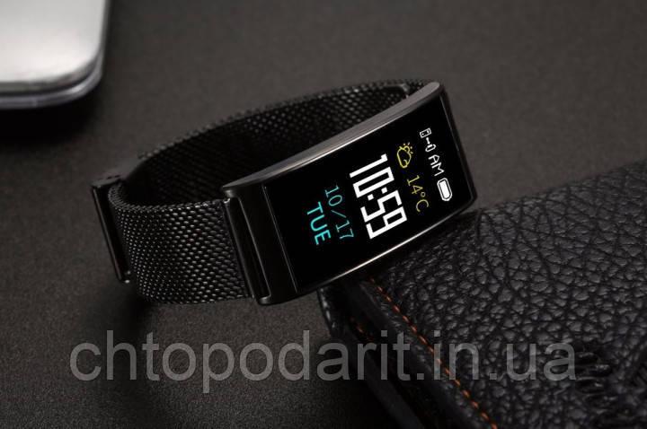Фитнес-браслет SUNROZ Smart MioBand X3 - черный Код 10-8034