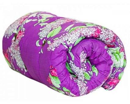 Одеяло закрытое овечья шерсть (Поликоттон) Полуторное T-51138, фото 2