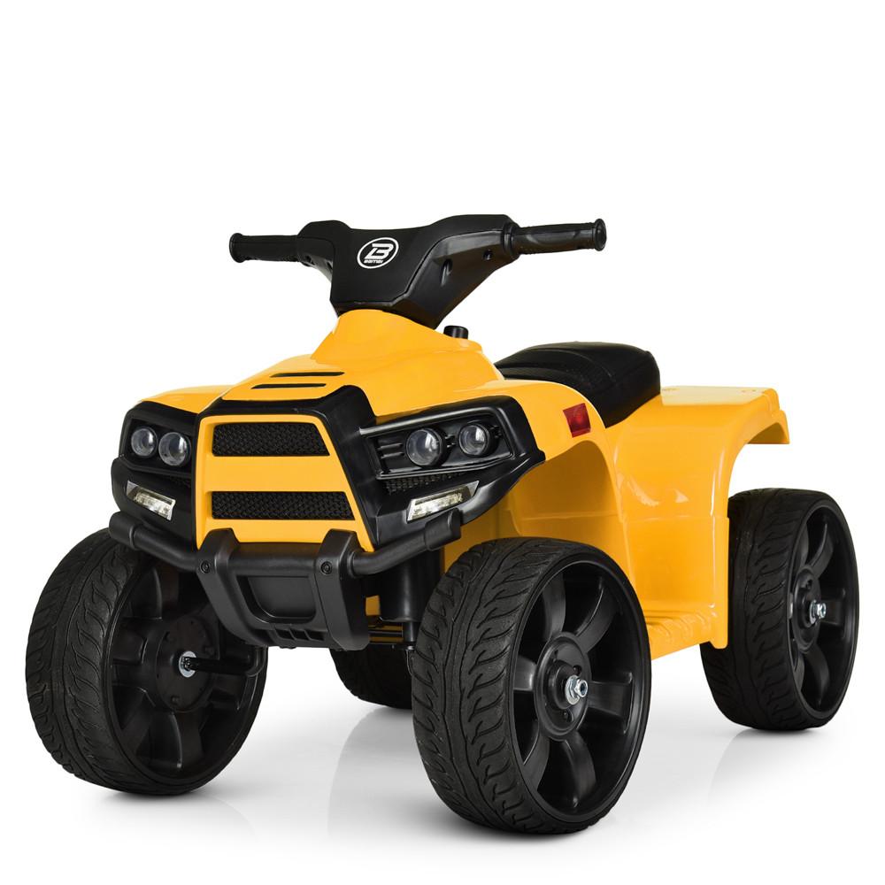 Электромобиль Квадроцикл M 3893EL-6 желтый BAMBI