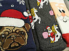 Новогодние носки женские внутри махра EKMEN 372 Турция 36-41 размер НЖЗ-010838, фото 2