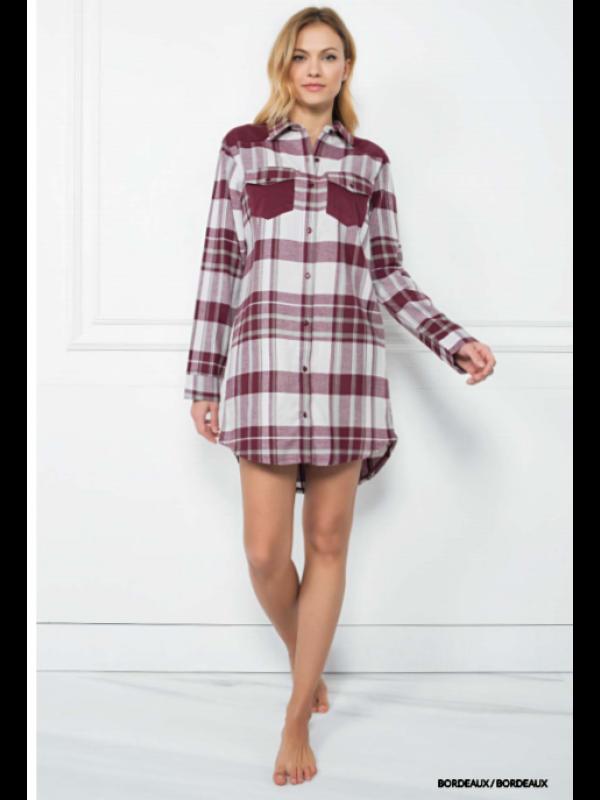 Женская сорочка из хлопка Jadea 5089