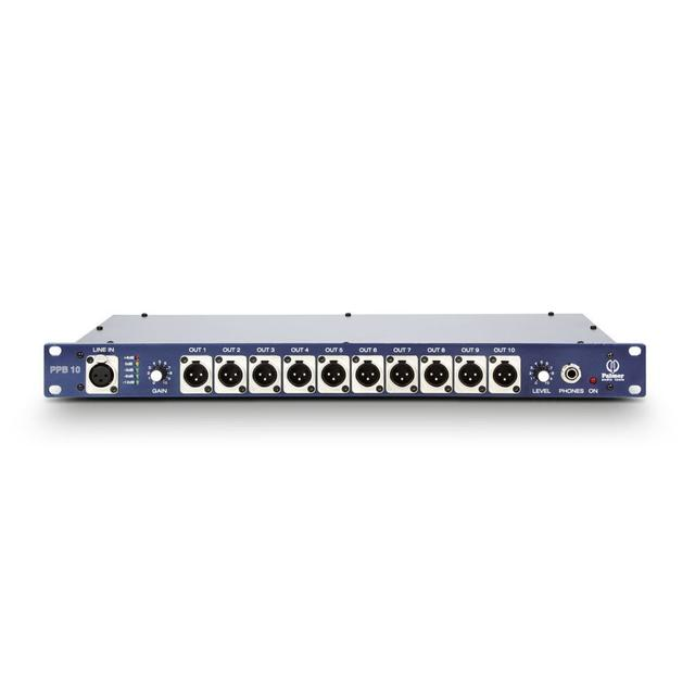 Press Patch Box 10-каналов Palmer Pro PPB10