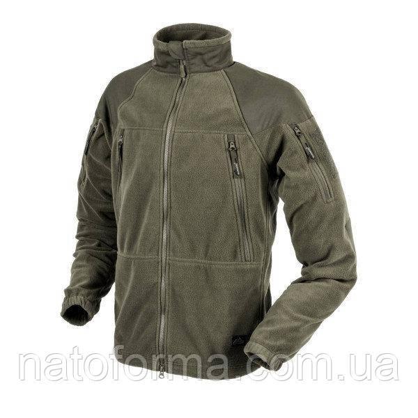 Тактическая флисовая курткаHelikon-Tex®Stratus Heavy Fleece, olive