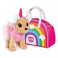 Собачка в радужной сумке Кикки M 5427 UA, фото 1