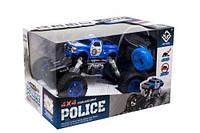 """Полицейский джип на радиоуправлении """"Пикап Rock Climbing"""" 4 х 4 (синий) 6149L/6149H"""