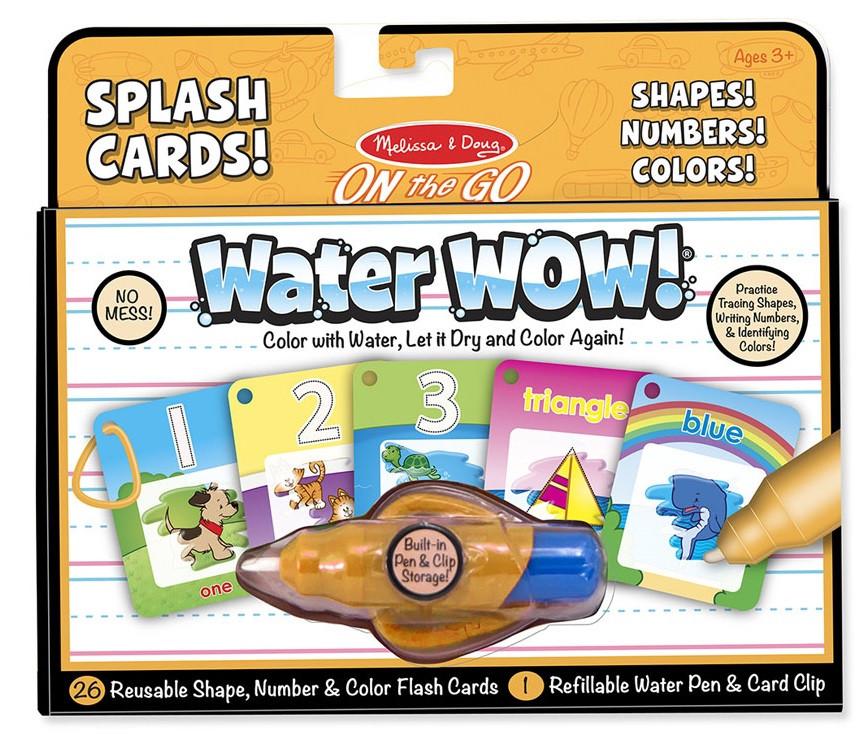 Волшебный водный набор-раскраска Цифры, формы, цвет Melissa & Doug (MD5237)