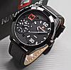 Чоловічі наручні годинники NaviForce 9092 Black, Оригінал
