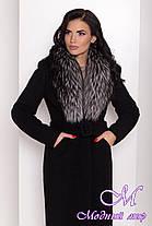 Женское зимнее пальто с большим мехом (р. S, M, L) арт. К-83-81/44595, фото 3
