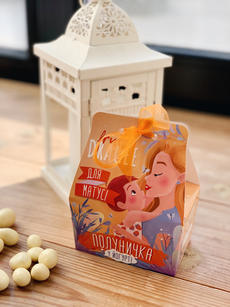 Шоколадный набор Shokopack Драже Веселого Нового року Белый шоколад