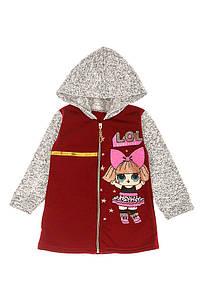 Кофта для девочек 120PKTN6111 junior (Бордо)