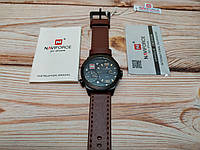 Мужские наручные часы NaviForce 9092 Коричневые, Оригинал, фото 1