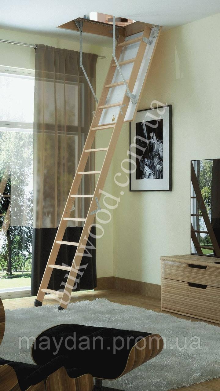 Чердачная лестница Bukwood Compact ST 130х70 см