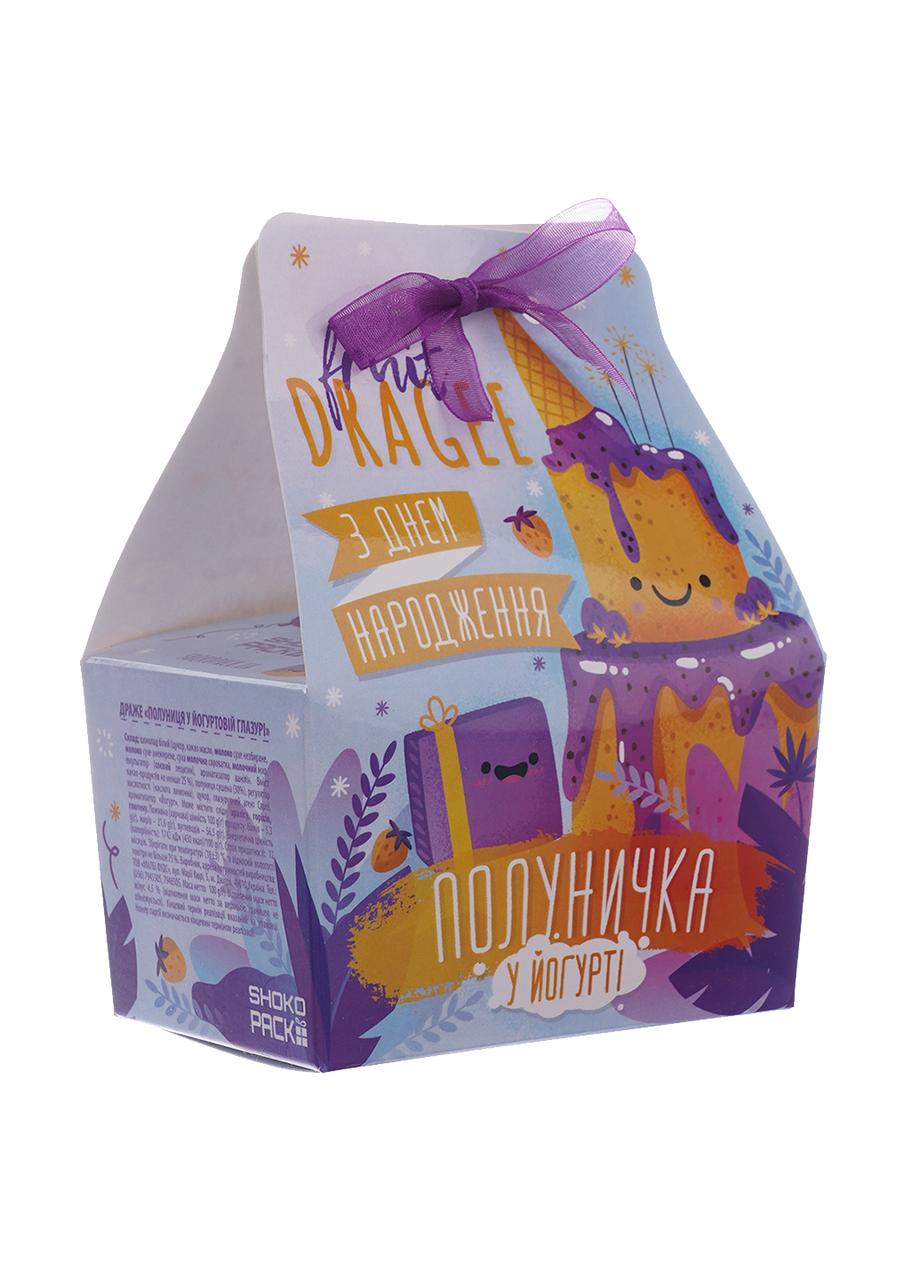 Шоколадный набор Shokopack Драже ко дню рождения Белый шоколад