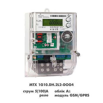 У MTX 1G10.DH.2L2-DOG4 однофазный многотарифный