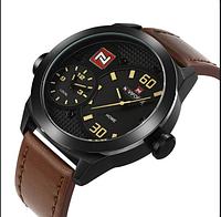 Чоловічі наручні годинники NaviForce 9092 Brown, Оригінал, фото 1