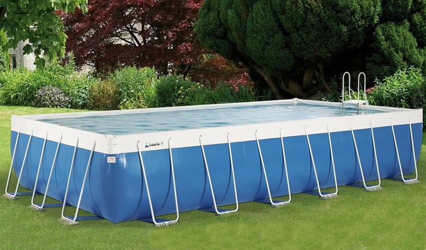 Каркасний басейн для масових заходів, вечірок, активностей CLASSIC PROFESSIONAL 10х10м прямокутний