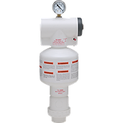 Захисний вакуумний клапан PG-VAC ля запобігання утворенню  вакууму в трубопроводах громадських басейнів США