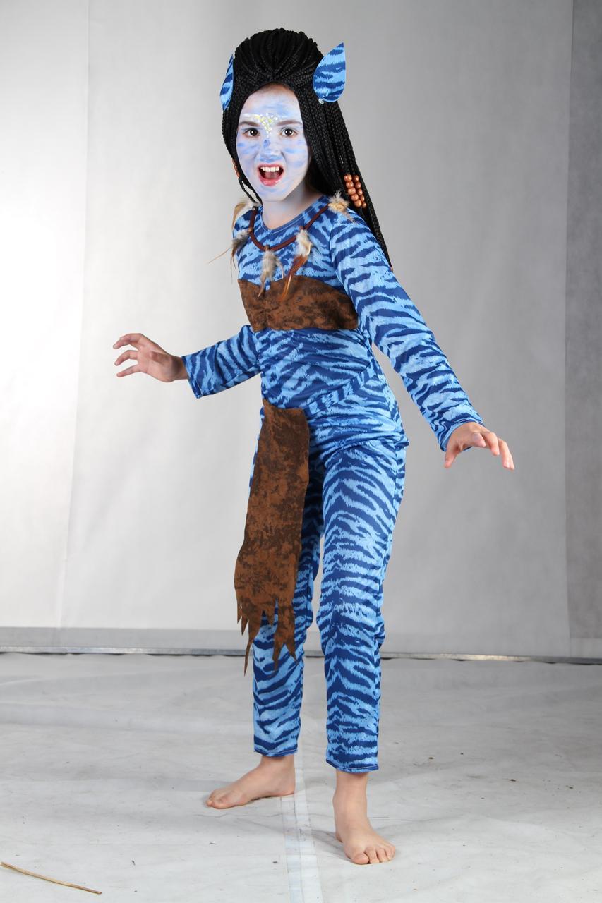 Карнавальный костюм Аватар (девочки), без парика, 87584