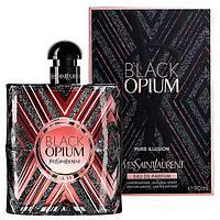 Женская парфюмированная вода Yves Saint Laurent Black Opium Pure Illusion, 90 мл