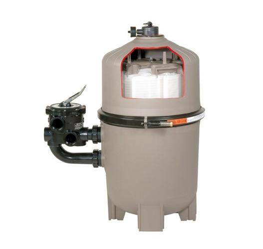Діатомовий фільтр + клапан для DE фільтру,для насосу 16 м3/г, потребує 2 кг землі