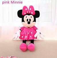 Мягкая игрушка  Дисней Минни Маус розовая , 27 см