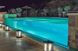 Акрилове скло. Акриловое стекло для бассейнов, аквариумов.