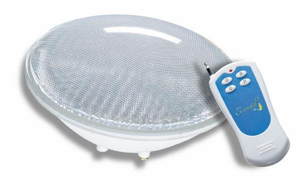 Кольорова Лампа для підводних прожекторів. LED RGB, 24 Вт, стандарт PAR56 з пультом
