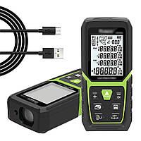50M / 100M / 150m Лазер Высокоточный инфракрасный измерительный прибор для высокоточных измерений Измерительный прибор для помещений Лазер
