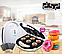 Апарат для виготовлення пончиків DSP KC-1131 печиво,вафлі, бісквіт,горішки 4в1, фото 10
