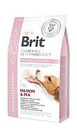 Сухой корм для собак Brit Veterinary Diet Dog Hypoallergenic беззерновой гипоаллергенный 2кг