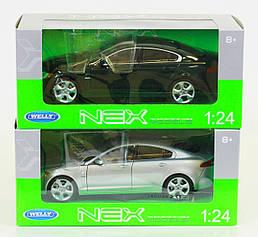 "Машина Welly, ""JAGUAR XF"", металлическая, масштаб 1:24, 22497W"
