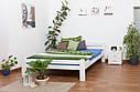 Кровать двуспальная односпальная деревянная 160х200 Массив дуба Ліжко, фото 7